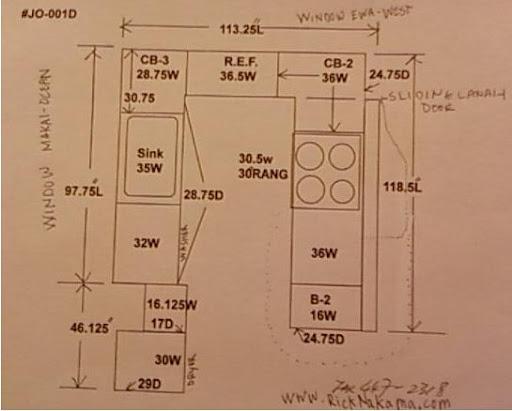 www.RickNakama.com condo kitchen renovation