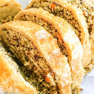 Vegetable Wellington with Chickpeas and Quinoa