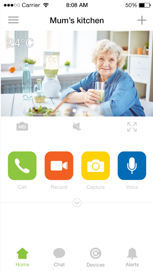 Tendr Care Hub: captura de pantalla