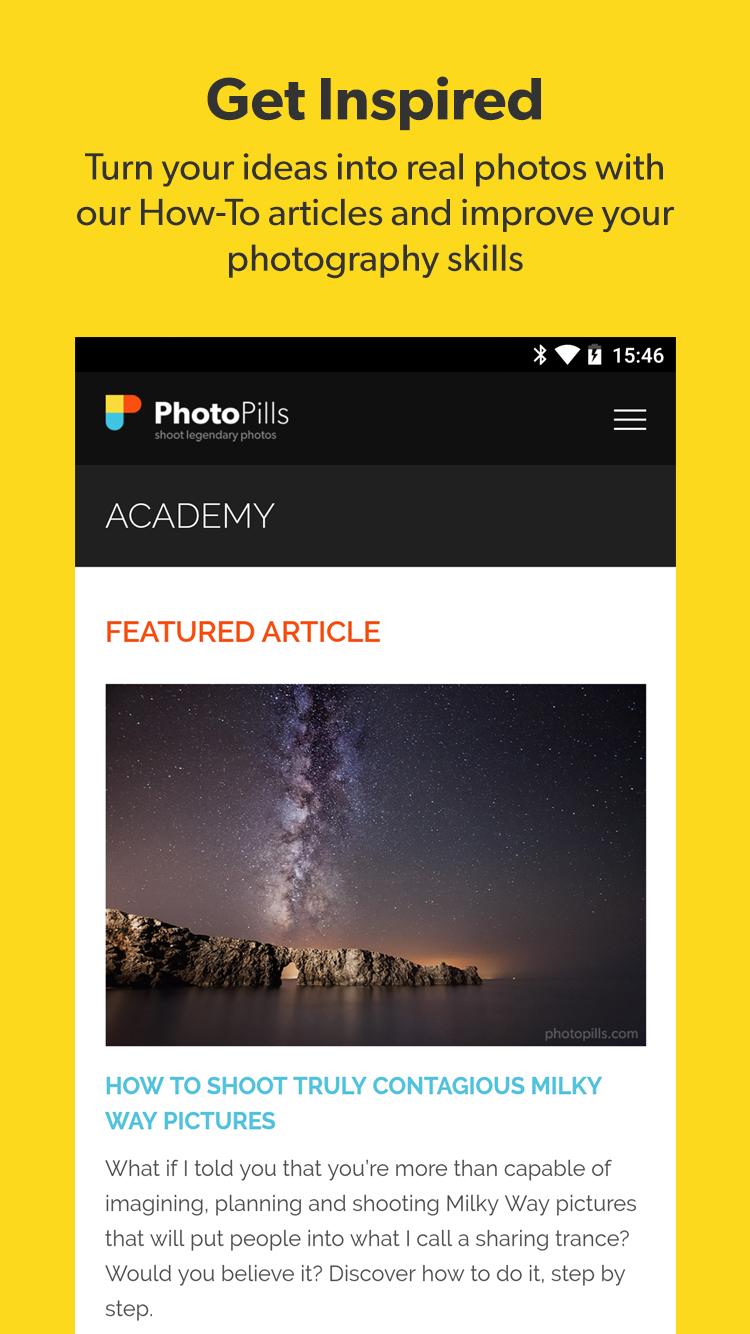 PhotoPills Screenshot 4