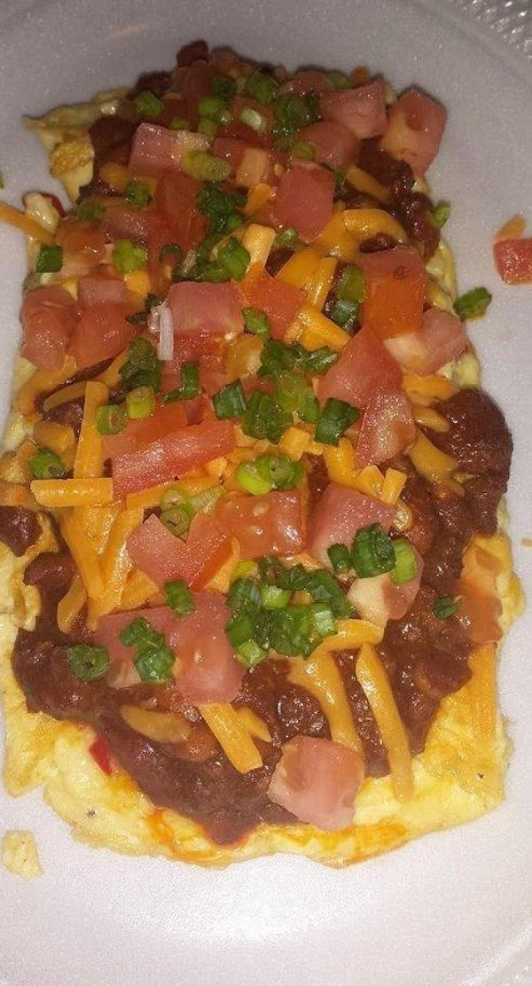 Chili Cheese Omelet Recipe