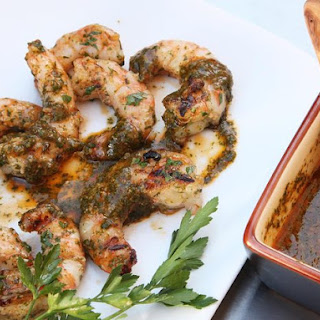 Grilled Shrimp With Chermoula