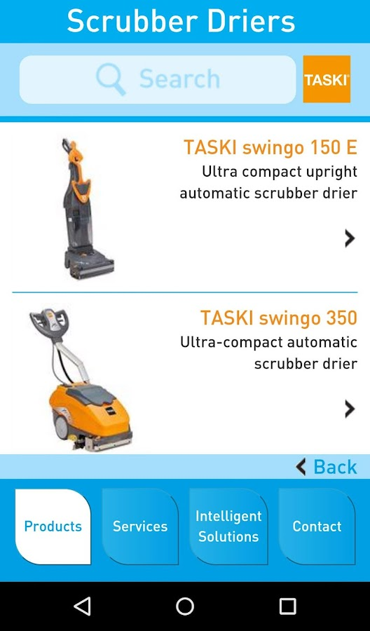 TASKI - Intelligent Solutions- screenshot