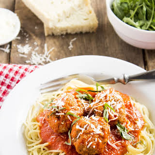 Best Ever Spaghetti and Meatballs.