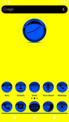 Blue Icon Pack Style 1 u2728Freeu2728 screenshots 1