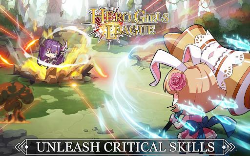 Hero Girls League - Fantasy RPG 1.0.2 Mod screenshots 4