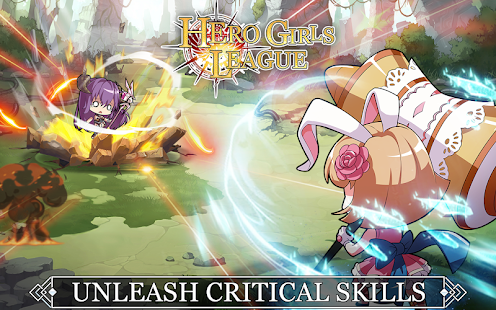 Hero Girls League - Fantasy RPG