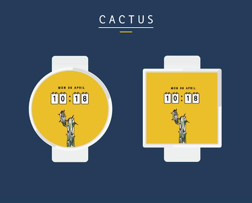 Cactus watchface