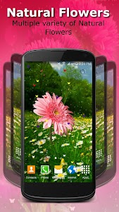 Live Wallpaper - Flowers screenshot 3
