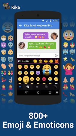 Emoji Keyboard Pro Smiley Kika 3.1.3 screenshot 93972