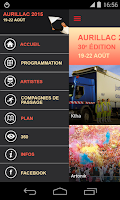 Screenshot of Festival Aurillac
