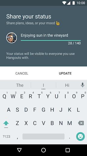 Hangouts 32.0.297021247 screenshots 5
