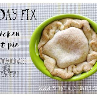 21 Day Fix Chicken Pot Pie {vegetarian or meaty}