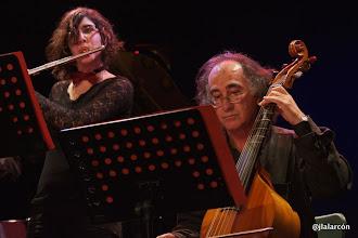 Photo: Rocío Herrera, flauta travesera. José Ignacio González, viola da gamba.