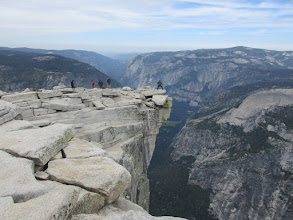 Photo: The diving board, Half Dome