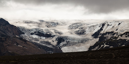 Photo: A view of the Mýrdalsjökull before the weather moved in