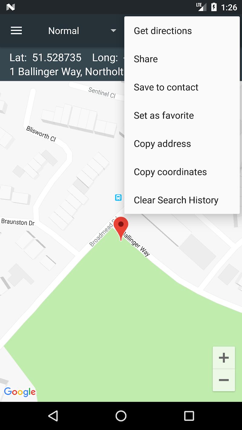 Map Coordinates Screenshot 6