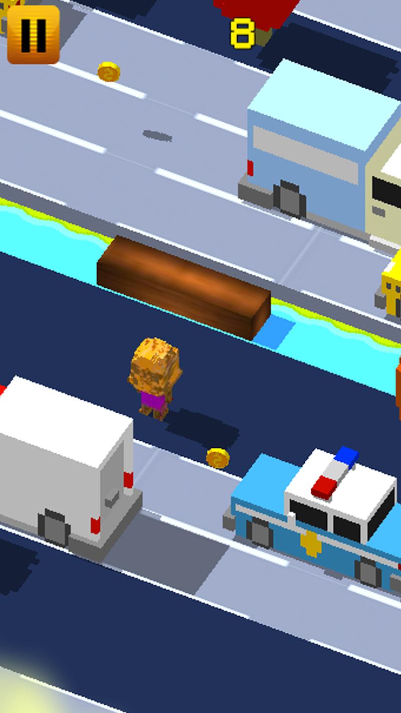Скриншот CROSSY BIGFOOT