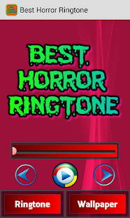 Best Horror Ringtones screenshot