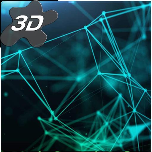 3d Effect Live Wallpaper V Apk Particle Plexus Sci Fi 3d Live Wallpaper 1 0 6 Apk For Android