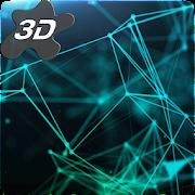 Particle Plexus Sci-Fi 3D Live Wallpaper