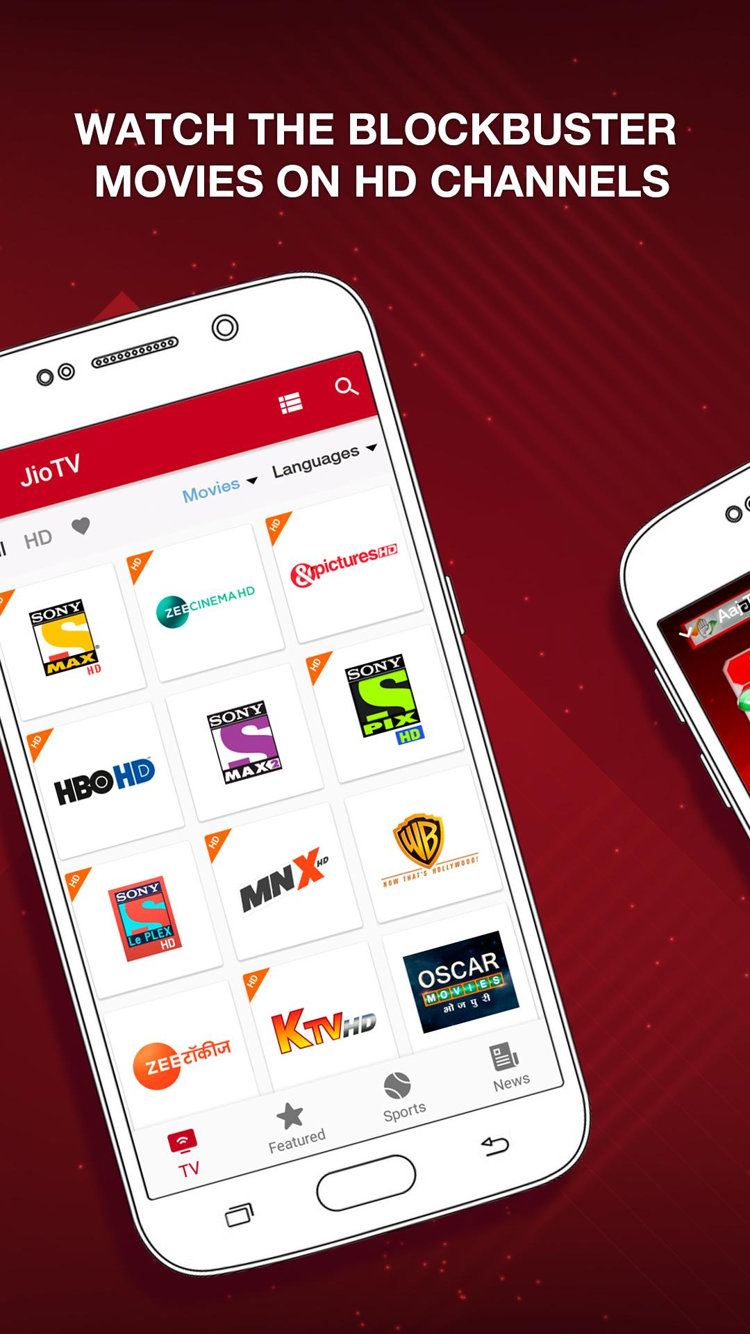 JioTV – LIVE Cricket, TV, Movies