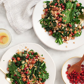 Winter Farro & Kale Salad