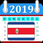 Costa Rica 2019 Calendar-Holiday