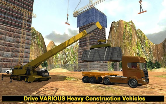 Real Construction & Crane SIM apk screenshot