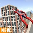 Miami Rope Hero Spider Open World Street Gangster