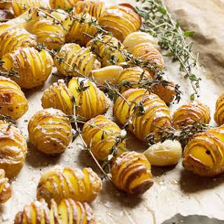 Hasselback Mini Potatoes.
