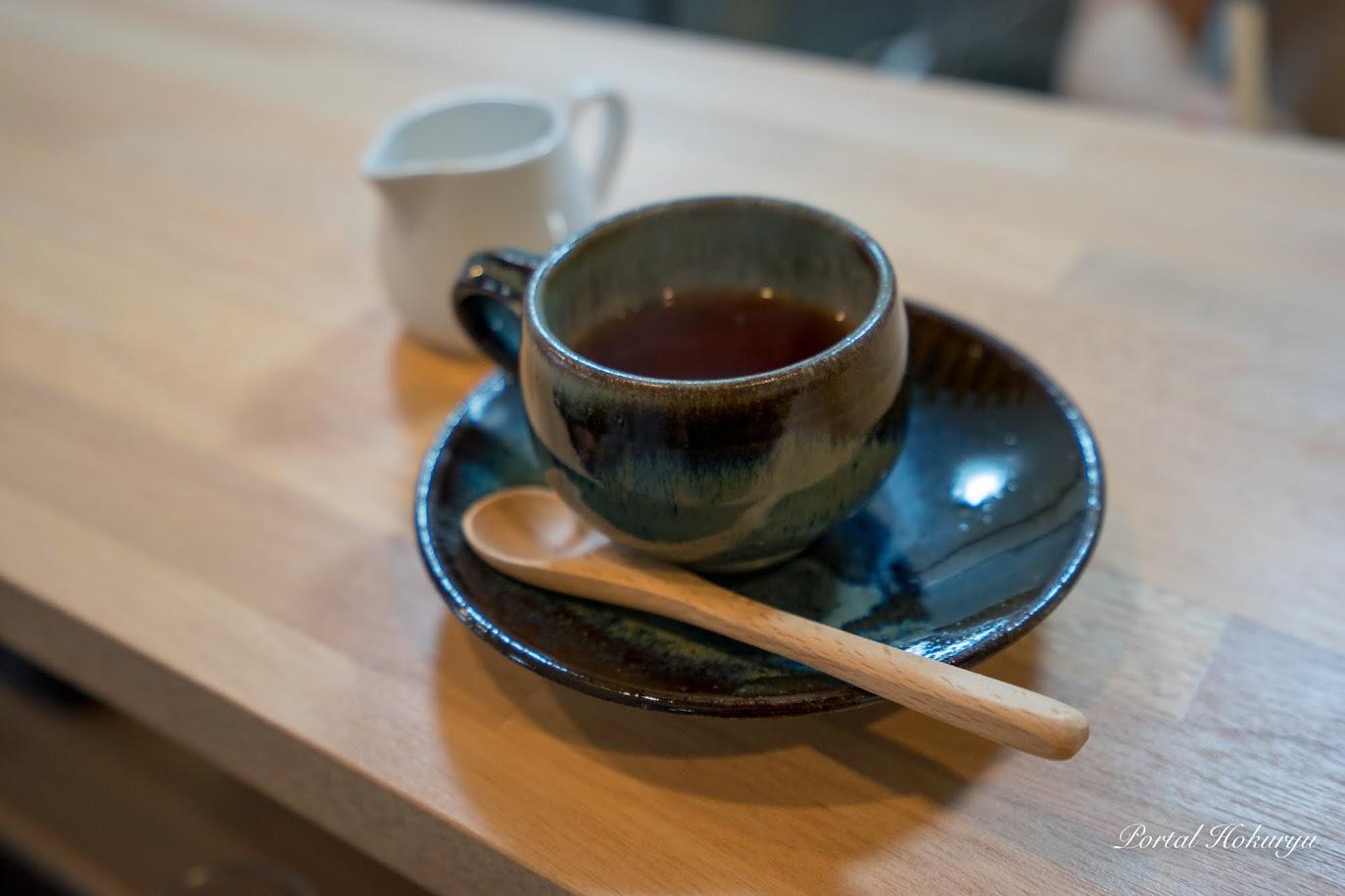 食後のコーヒー(日替わりランチに付いてくる)