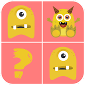 Monster Pair - Memory Game