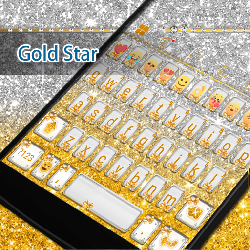 Golden Bow Eva Keyboard -Gifs 遊戲 App LOGO-硬是要APP