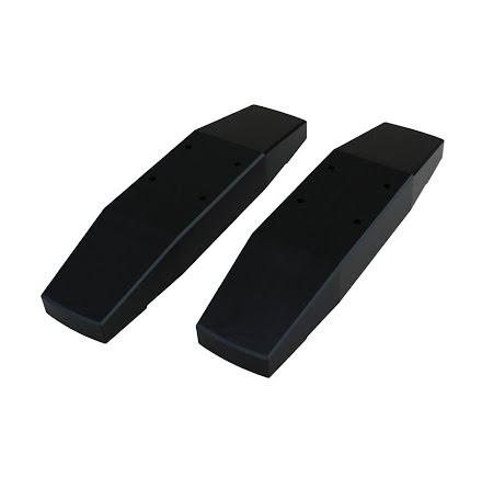 Watercool radiatorføtter for MO-RA3 , acetal, sort