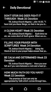 T.B. Joshua Daily Devotional - náhled