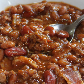 Hearty Baked Beans.
