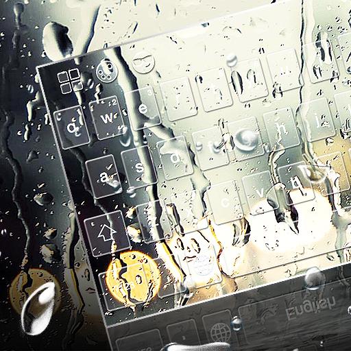 Water Drops Keyboard Theme