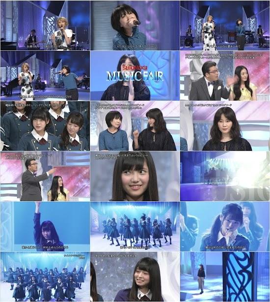 (TV-Music)(1080i) 欅坂46 – Music Fair 160514
