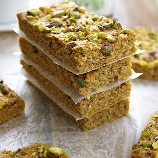 Sweet Potato Pistachio Bars.