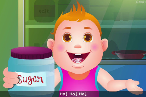 Johny Johny Yes Papa Nursery Rhyme - offline Video 5.4 screenshots 2