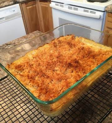 Baked Macaroni and Cheese Casserole from 1941