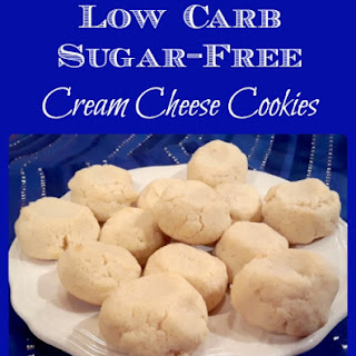 Low Carb Sugar-Free Cream Cheese Cookies.