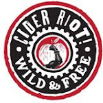 Logo of Cider Riot! Everybody Pogo Hoppy Cider