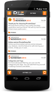 Private DIARY Pro – Personal journal 7.6.7 Mod APK (Unlimited) 2