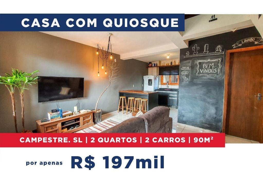 Casa Residencial à venda, Campestre, São Leopoldo 90m²