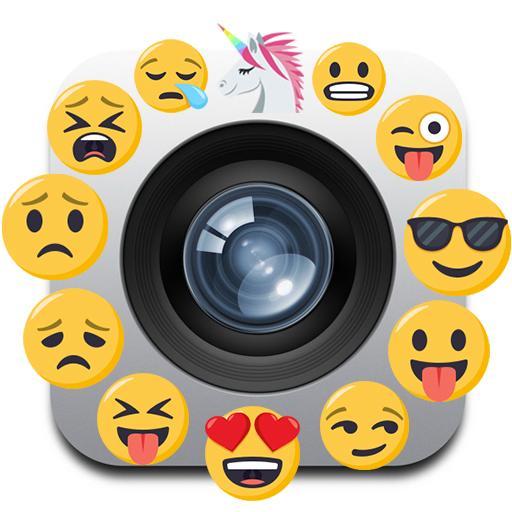 Camara emoji editor stickers