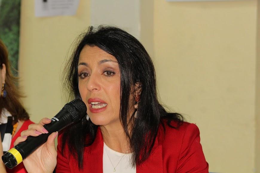 La presidenta del Parlamento de Andalucía, Marta Bosquet.