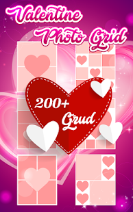 Valentine Photo Grid - náhled