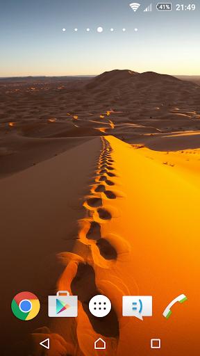 사막 배경 화면 4K
